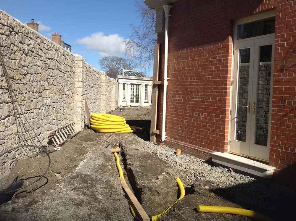 drainage-work