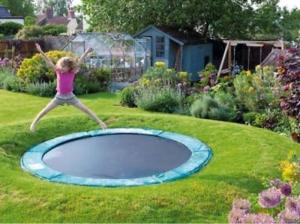 Buried-trampoline